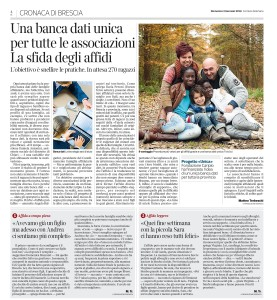 Articolo Corriere Affido