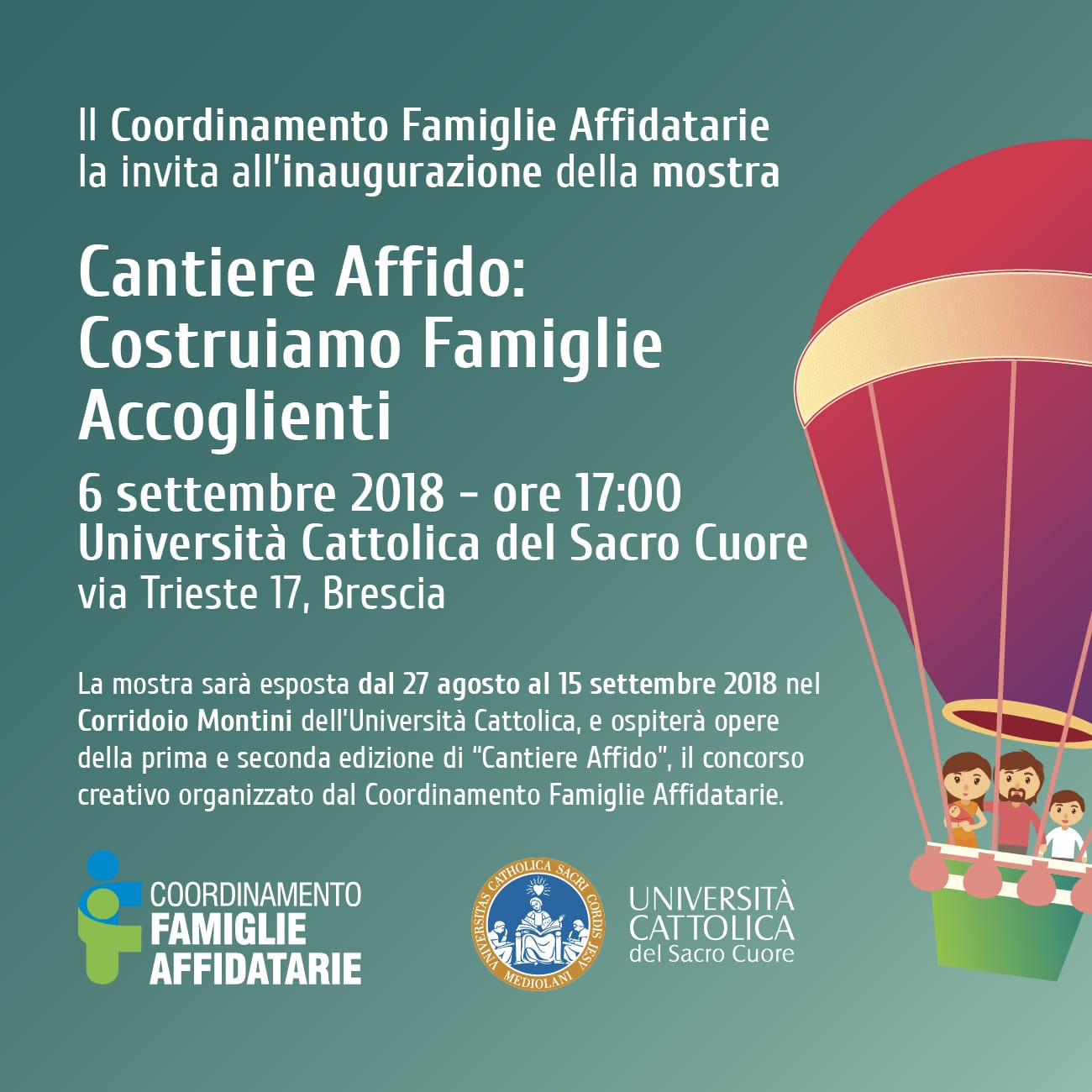 Locandina Mostra Cantiere Affido